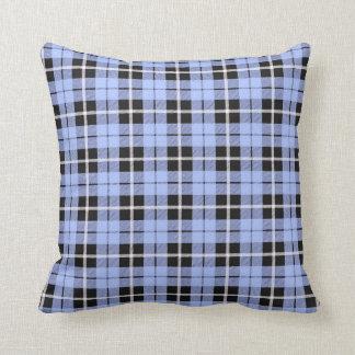 Baby boy light sky blue white/black stripe stripe throw pillow