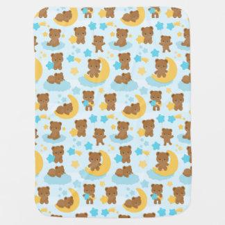 Baby Boy Little Bear Nursery Baby Blanket