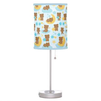 Baby Boy Little Bear Nursery Table Lamp