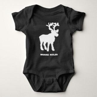 Baby Boy Moose T-shirts