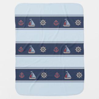 Baby Boy Nautical Baby Blanket