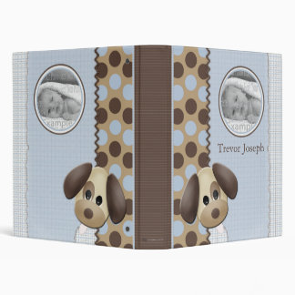 Baby Boy Photo Album Personalized 3 Ring Binders