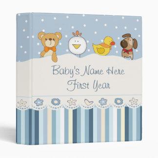 Baby Boy Photo Album Vinyl Binder