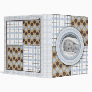 Baby Boy Photo Book Vinyl Binder