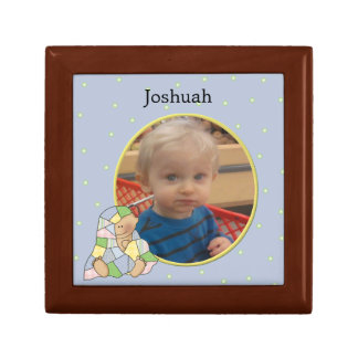 Baby Boy Photo Tile Box