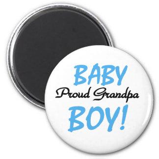 Baby Boy Proud Grandpa Magnet