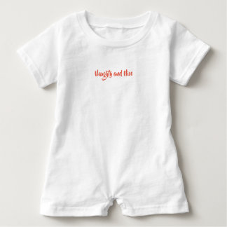 Baby Boy Romper with Naughty & Nice