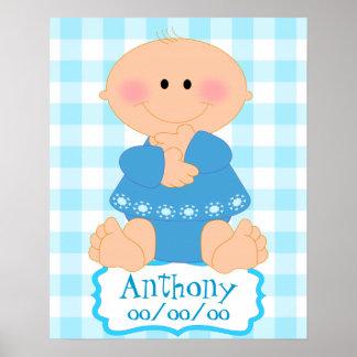 baby boy room,custom baby boy room poster
