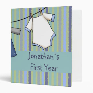 Baby Boy´s First Year Binders