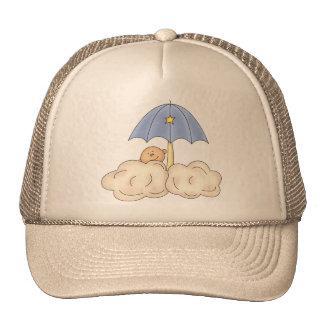 Baby Boy Shower Mesh Hat