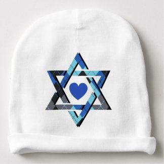 Baby Boy Star of David Hanukkah Beanie Hat Baby Beanie