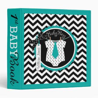 Baby Boy Tie Memory Book Album Binders