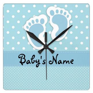 """Baby Boy"" Wall Clock"