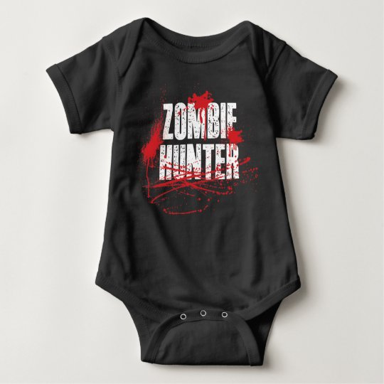 Baby Boys Zombie Hunter Romper Playsuit