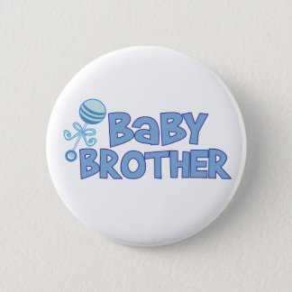 Baby Brother 2 Inch Round Button