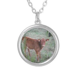 Baby Brown Cow . Custom Jewelry