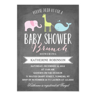 Baby Brunch | Baby Shower Invitation