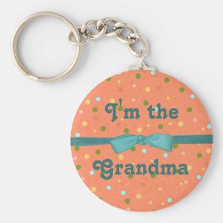 "Baby Bubbles:""I'm the Grandma"" Keychain"