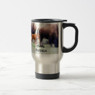 Baby Buffalo - Mug, Coffee Cup, Travel Mug