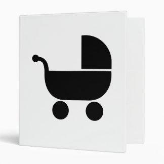 Baby buggy 3 ring binders