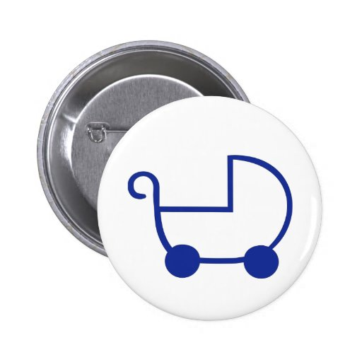 Baby buggy buttons