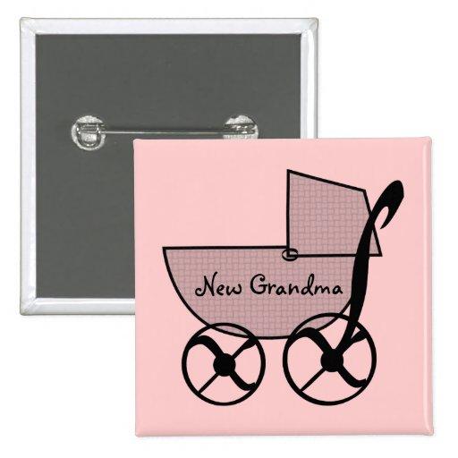 Baby Buggy Flair Button