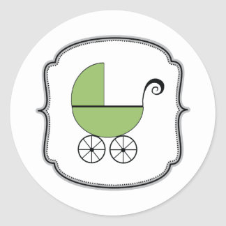 Baby Buggy Sticker