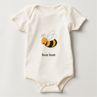 Baby Bumble Bee Baby Bodysuit