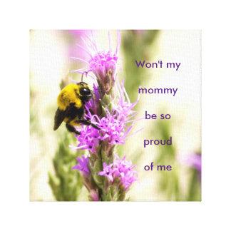 Baby Bumblebee part 2 Canvas Print