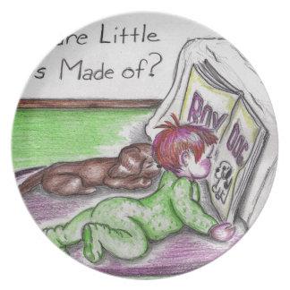 Baby Bundting Dinner Plate