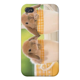 Baby Bunnies Cover For iPhone 4