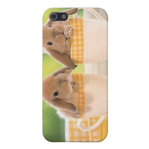 Baby Bunnies iPhone 5 Cover