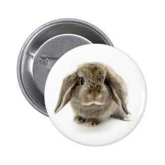 Baby Bunny 2 Inch Round Button