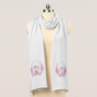 Baby Bunny Cartoon Scarf