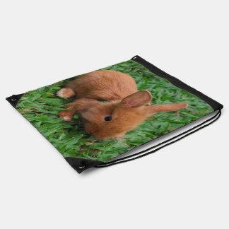 Baby Bunny Drawstring Bag