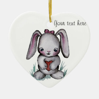 Baby Bunny Ornament