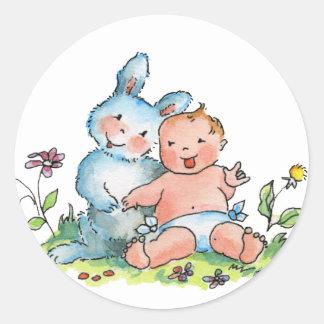 Baby Bunny Rabbit Sticker