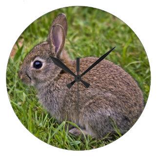 Baby Bunny Wall Clock