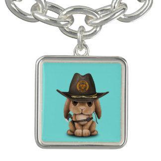 Baby Bunny Zombie Hunter Charm Bracelets
