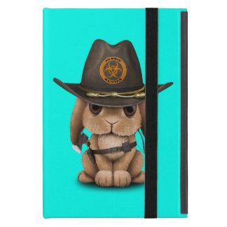 Baby Bunny Zombie Hunter Cover For iPad Mini