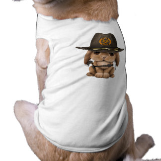 Baby Bunny Zombie Hunter Dog Tee