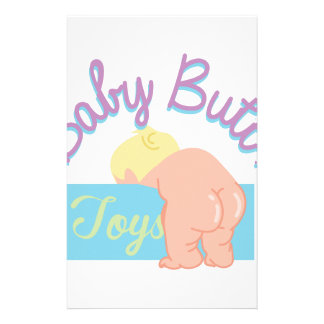 Baby Butt Personalized Stationery