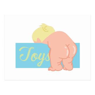 Baby Butt Postcard