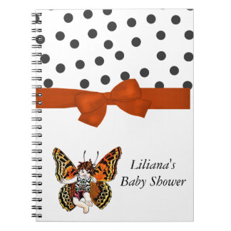 Baby Butterfly Shower Notebook