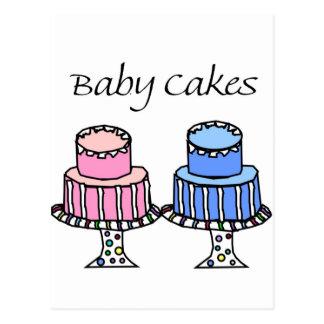 Baby Cakes Postcard