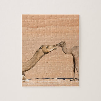Baby Camel and its Mother Jigsaw Puzzle