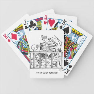 Baby Cartoon 1350 Bicycle Playing Cards