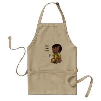 Baby Cartoon to Personalize - Apron