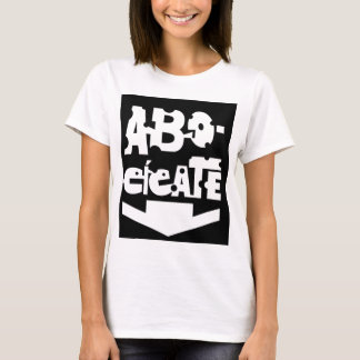 Baby Carved Doll ABOCÍCATE T-Shirt