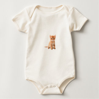 baby cat baby bodysuit